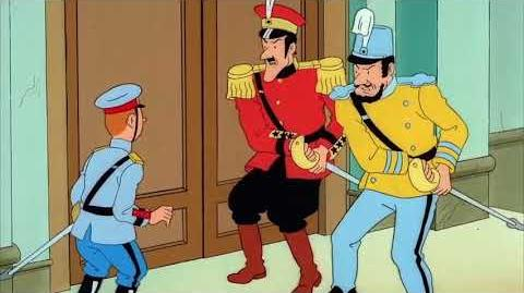 Tintin Capitulo 16 - La Oreja Rota, Parte 2 Latino HD