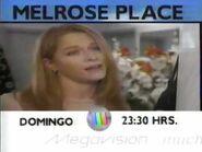 Comercial Melrose Place Megavisión 23 Enero 1999