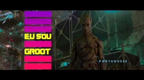 I Am Groot - In 15 Languages - Marvel's Guardians of the Galaxy Blu-ray Featurette Clip 10