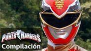 Power Rangers en Español Rangers Megaforce en acción