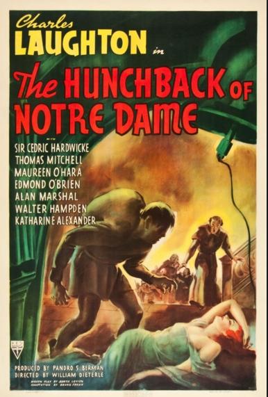 El jorobado de Notre Dame (1939)