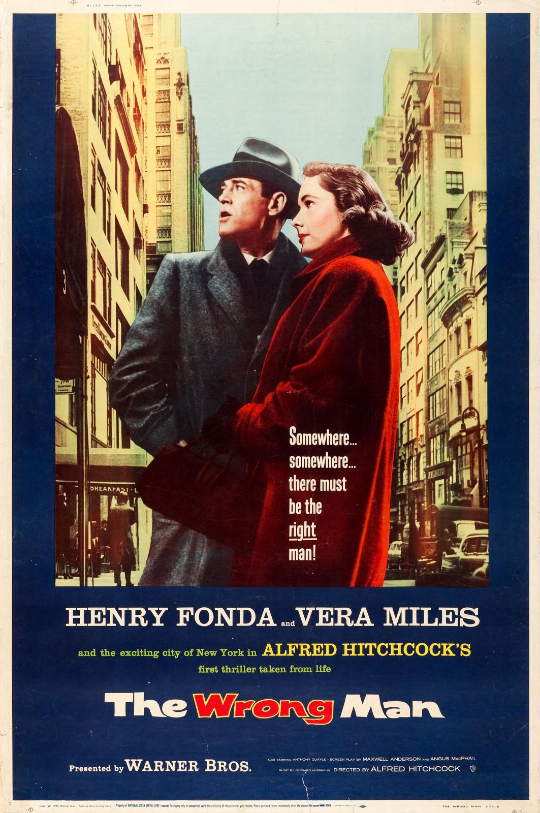 El hombre equivocado (1956)