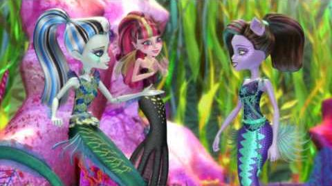 ¡Profundos poderes marinos! Great Scarrier Reef Monster High