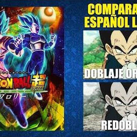 Dragon Ball Super- Broly -2018- Doblaje Original y Redoblaje - Español Latino -Comparación y Muestra
