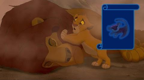 """Momento Epico Disney """"Muerte De Mufasa"""" El Rey Leon"""