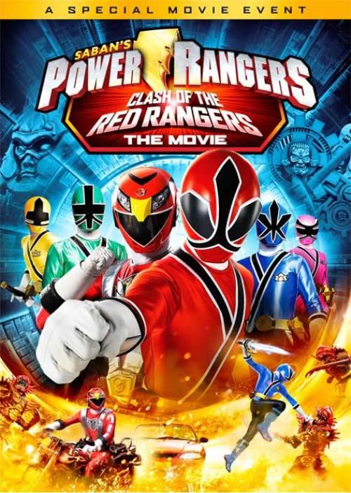 Power Rangers Samurai: El choque de los Rangers Rojos - La película