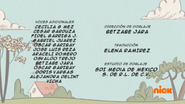 Creditos de doblaje The Loud House ESLA (S307-2)