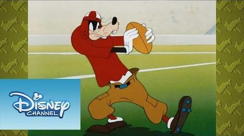¡A reír con Mickey! El arte del Futbol Americano