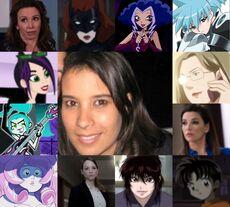 Maythe y otros de sus personajes.jpg