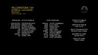 Yellowstone CreditosEP1