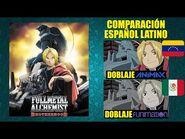 Fullmetal Alchemist- Brotherhood -2009- Comparación del Doblaje Latino Original y Redoblaje