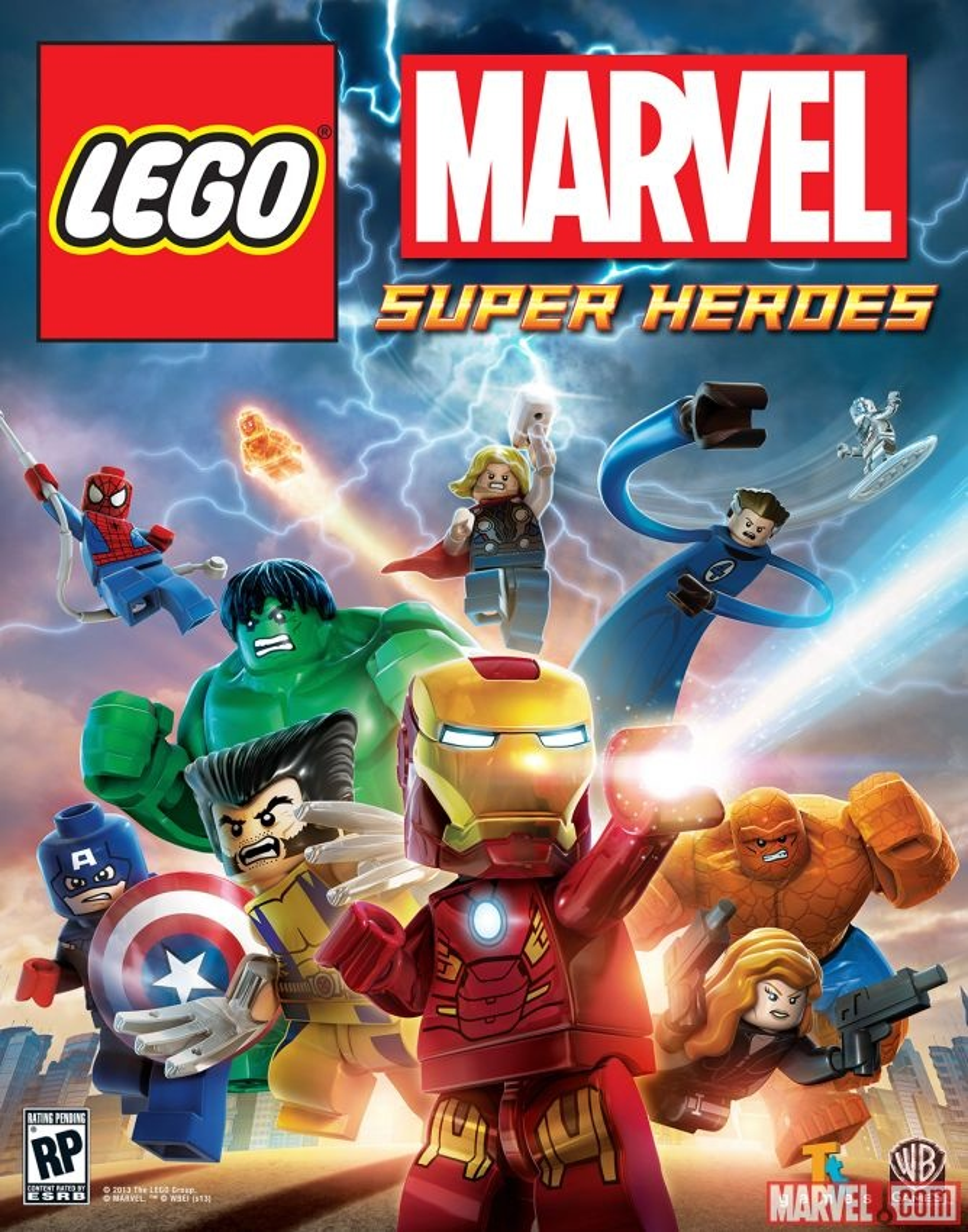 LEGO Marvel Superhéroes (videojuego)