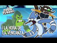 MINITITANES PARTE 2 - ¡¡¡Mordecai está libre!!!! - Toontubers - Cartoon Network