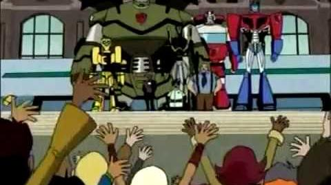 Promo Transformers- Animated - Cartoon Network Latino (Año 2008)