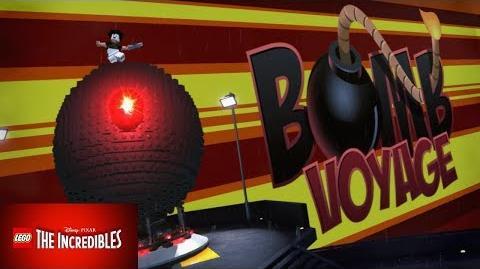 """¡¡ COMO DESBLOQUEAR A """"BOMB VOYAGE""""!! - LEGO LOS INCREÍBLES"""