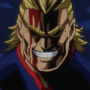 All Might pelicula MHA Dos Héroes