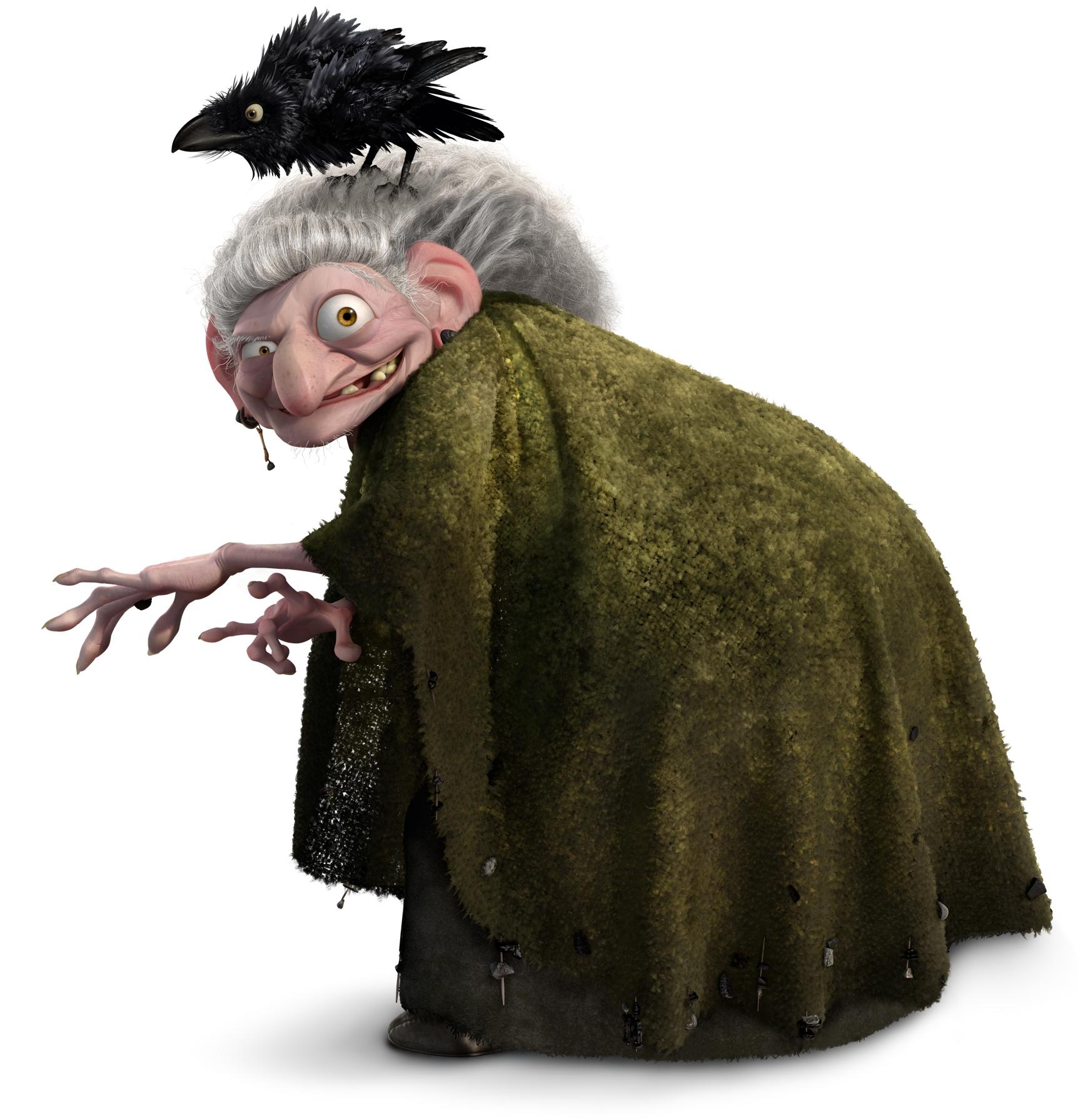 Bruja de DunBroch