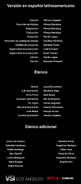 Créditos doblaje Selena La serie (temp. 2 ep. 7)