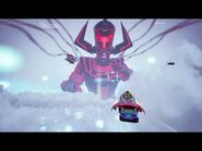 Evento Final Temporada 4 Fortnite Español Latino Completo!! Evento Galactus vs Avengers