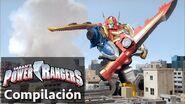 Power Rangers en Español Power Rangers Batallas de Megaforce Zord