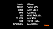 Creditos de doblaje Rise of the TMNT (Episodio 4, 1)