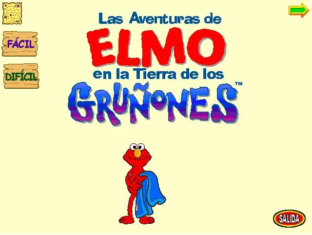 Las aventuras de Elmo en la tierra de los gruñones (videojuego)