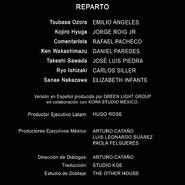 Captain Tsubasa La leyenda regresa - Créditos Último Trailer