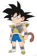 Goku niño DBS Broly