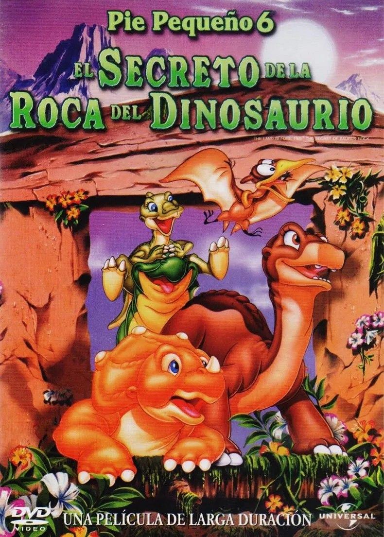 La tierra antes del tiempo VI: El secreto de la roca del dinosaurio