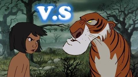 """Batalla Disney """"Mowgli vs Shere Khan"""""""