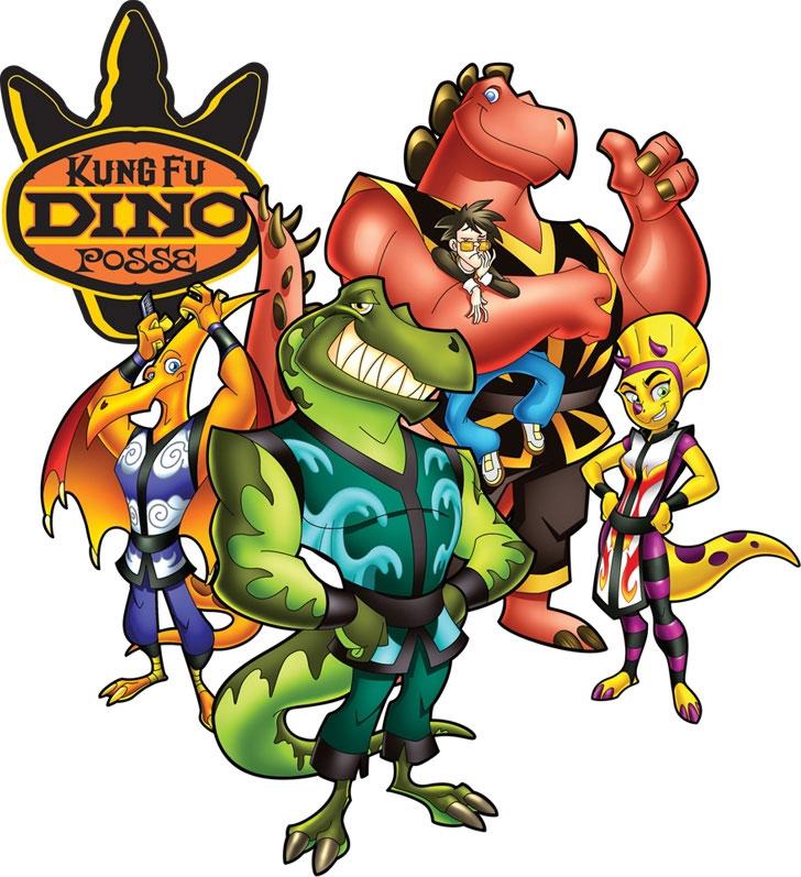 Kung Fu Dino Posse