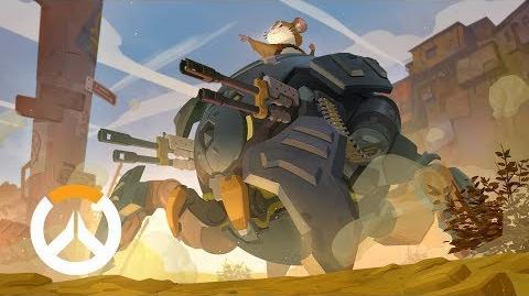 Historia de origen de Wrecking Ball Overwatch