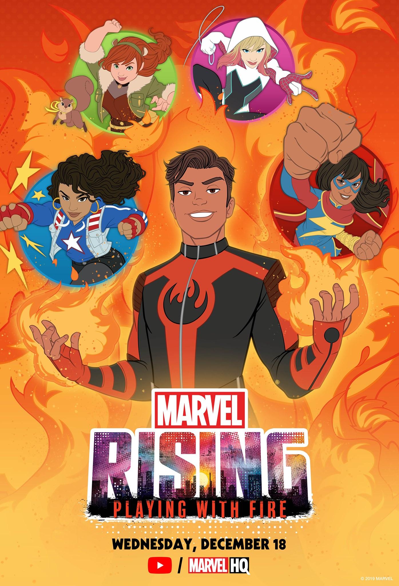 Marvel Rising: Jugando con Fuego