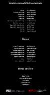 Créditos doblaje Selena La serie (temp. 1 ep. 1)