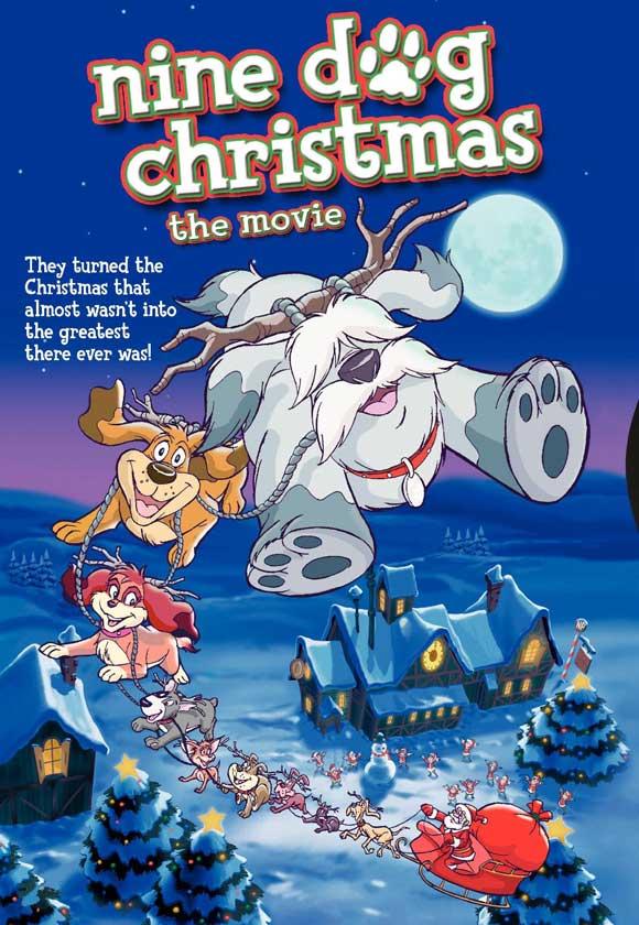 La Navidad de los 9 perritos