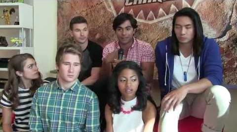 Entrevista Power Rangers DinoCharge En Español (voice Over)