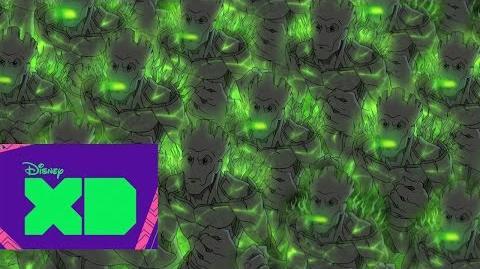 Guardianes de la Galaxia Groot parte 2