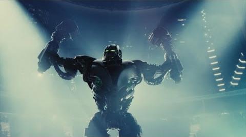 Gigantes de Acero Trailer Doblado