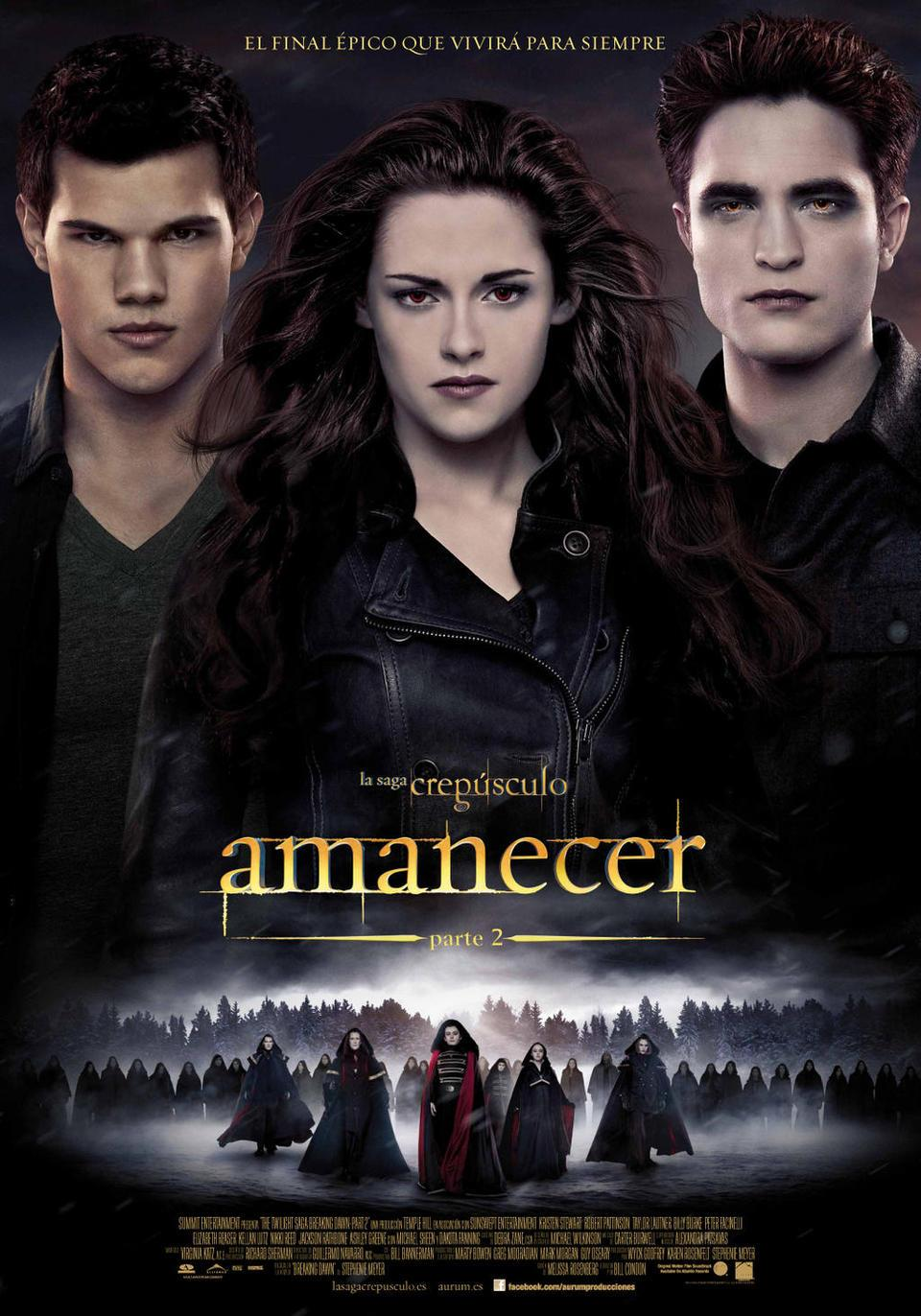 Crepúsculo la saga: Amanecer - Parte 2