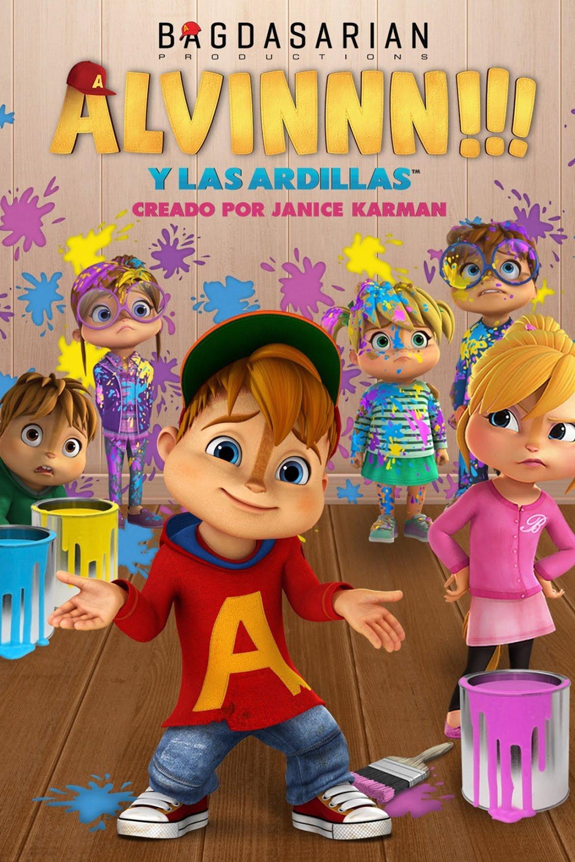 ALVINNN!!! y las ardillas