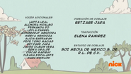 Creditos de doblaje The Loud House ESLA (S226-2)