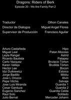 Doblaje Latino de Dragones Jinetes de Berk (Capitulo 20)