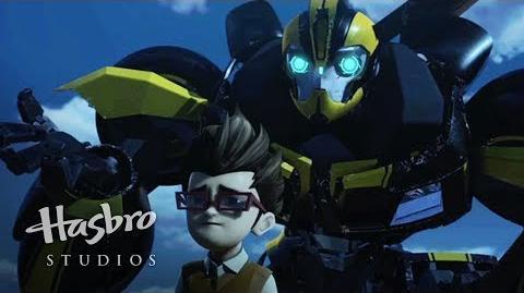 Transformers Prime Cazadores de Bestias - Mordida de Bumblebee