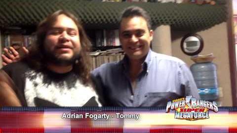 Super Megaforce Adrián Fogarty es Tommy Oliver