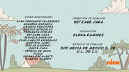 Creditos de doblaje The Loud House ESLA (S319-2)