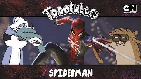 EL ESPETACULAR MORDO-ARAÑA Toontubers Cartoon Network