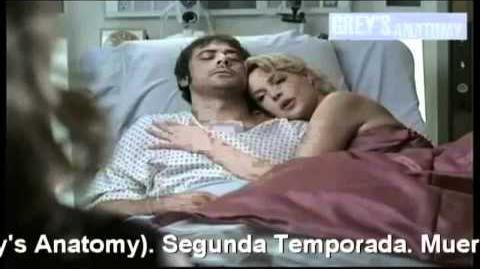 Grey's Anatomy Temporada 2 Muerte de Denny Duquette Español Latino y de España