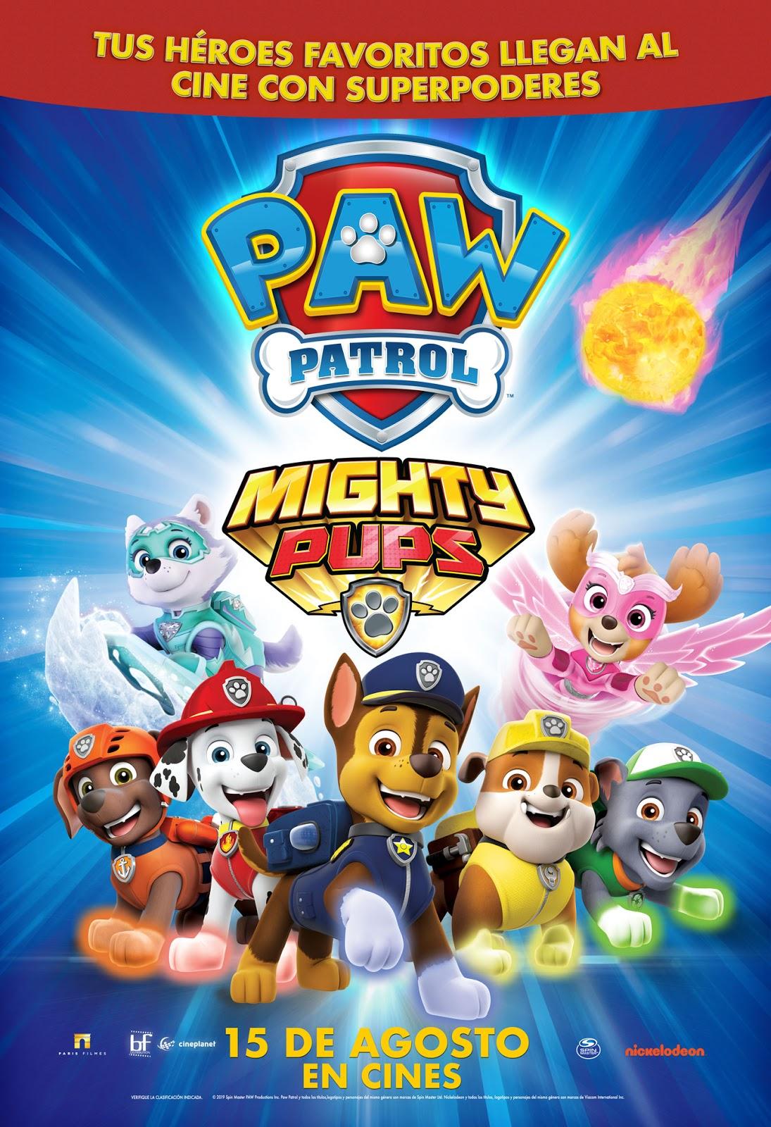 Paw Patrol: Mighty Pups
