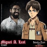 Attack on Titan Las películas (Actores presentados 01)