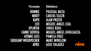 Creditos de doblaje Rise of the TMNT (Episodio 5, 1)
